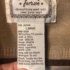 for joseph fortune Jackets & Coats - For Joseph Fortune Corduroy Jacket L